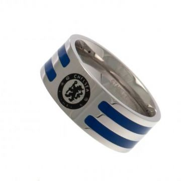 Chelsea FC Colour Stripe Ring - Medium